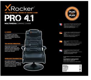 XRocker Chair Design for Packaging