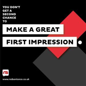 Make a great impression typographic design