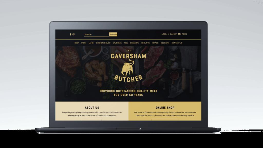 Caversham Butchers Website