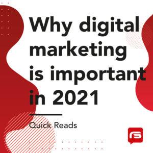 Digital Marketing Quick Read